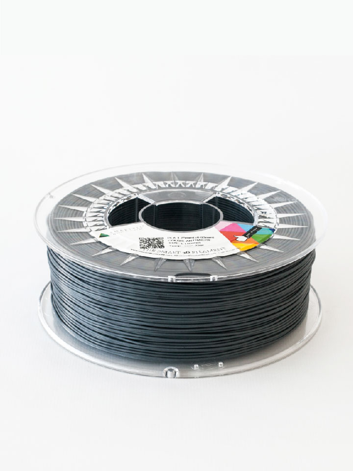 Filamento PLA 1 kg 1.75mm Antracite